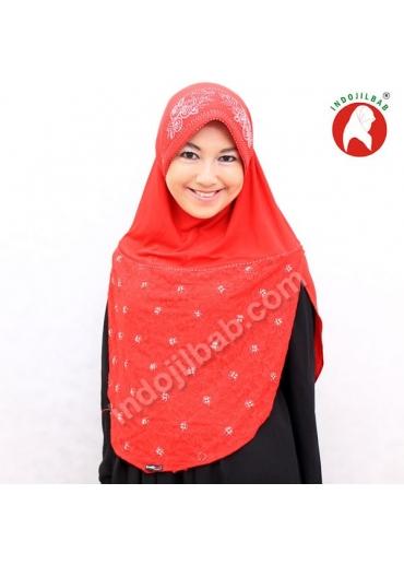 Brocade 1 Merah 002