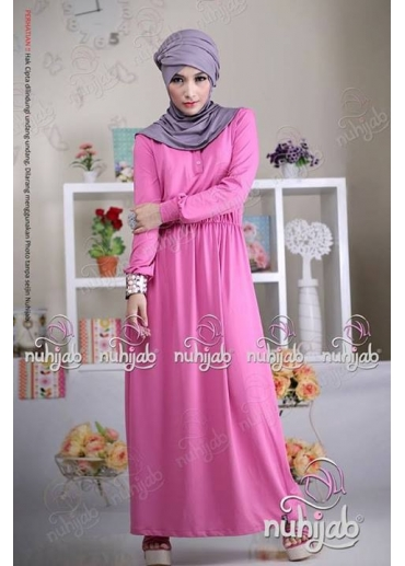 Simply Plain Dress Pink