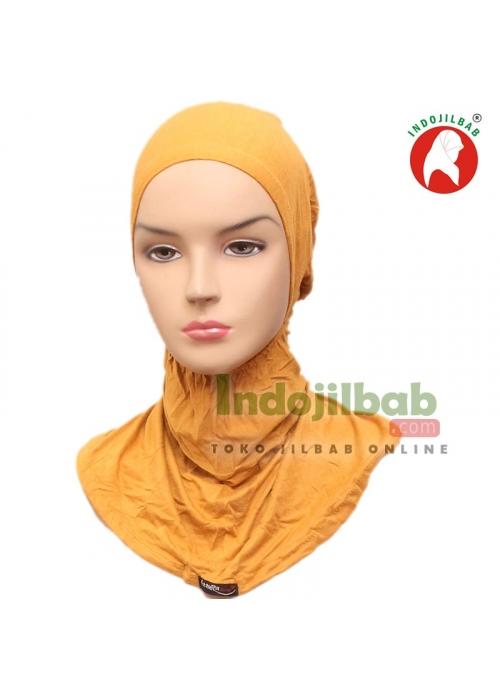 Ciput Ninja Kaos Resleting Kuning 001