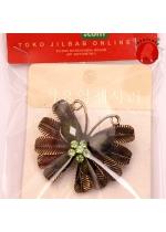 Bros Butterfly Coklat 001