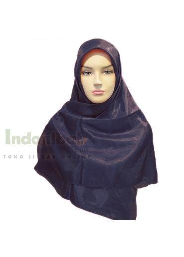 Silk Biru Dongker