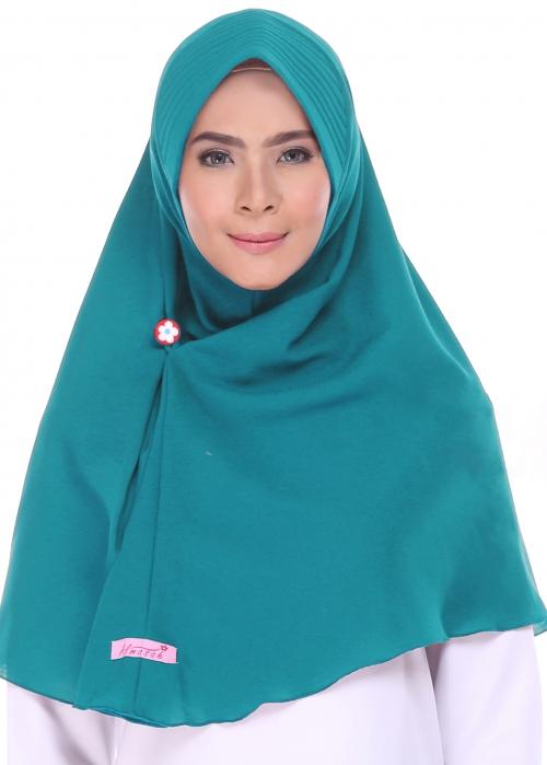 Jual Almasah Haruka Hijau Tosca Harga Dan Review Indojilbab Com