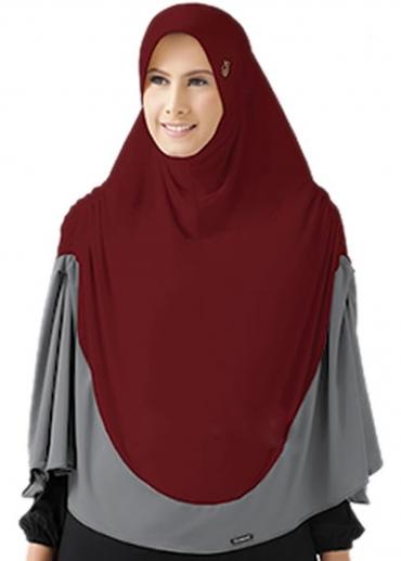 STJ092 Merah - Abu-Abu