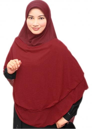 Bilqis Faiha Merah Marun