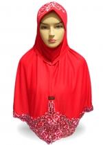 Marsha Bordir Kerancang Merah 001
