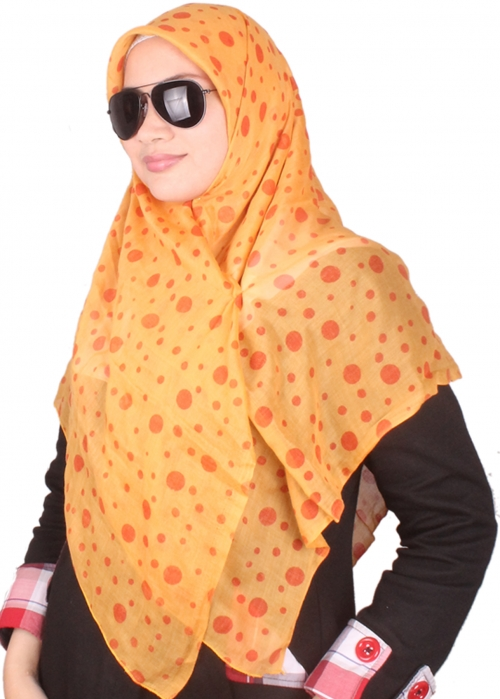 Polkadot Orange