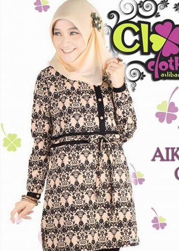 Tunic Aiko Batik Cream
