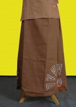 NR-02 Coklat Bordir