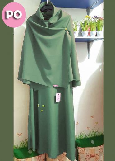 (PO) Humaira Set Green 001