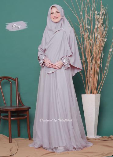 Firdaus Set Grey 05 (PO)