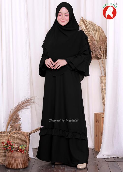 Aisyah Set Black (PO)