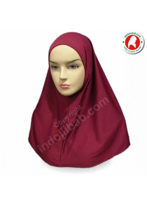 Dalaman Jilbab Merah 001