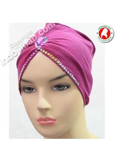 Ciput Arab Jasmine Kaos Ungu 002